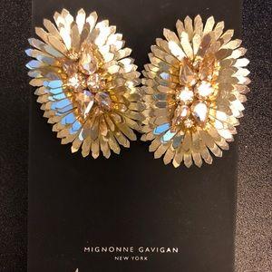 Mignonne Gavigan New York gold earrings